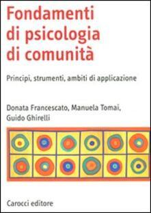 Squillogame.it Fondamenti di psicologia di comunità. Principi, strumenti, ambiti di applicazione Image