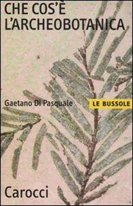 Foto Cover di Che cos'è l'archeobotanica, Libro di Gaetano Di Pasquale, edito da Carocci
