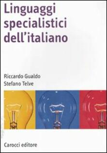 Amatigota.it Linguaggi specialistici dell'italiano Image