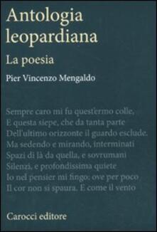 Antondemarirreguera.es Antologia leopardiana. La poesia Image