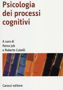 Camfeed.it Psicologia dei processi cognitivi Image