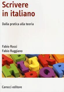Daddyswing.es Scrivere in italiano. Dalla pratica alla teoria Image