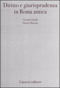 Diritto e giurisprudenza in Roma antica