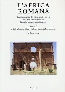 Antondemarirreguera.es L' Africa romana. Vol. 19: Trasformazione dei paesaggi del potere nell'Africa settentrionale fino alla fine del mondo antico. Image