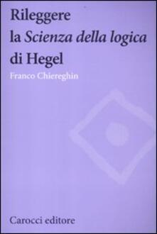Ristorantezintonio.it Rileggere la «Scienza della logica» di Hegel Image