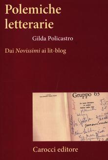 Squillogame.it Polemiche letterarie. Dai «Novissimi» ai Lit-blog Image