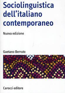 Sociolinguistica dell'italiano contemporaneo - Gaetano Berruto - copertina