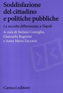 Soddisfazione del cittadino e politiche pubbliche. La raccolta differenziata a Napoli