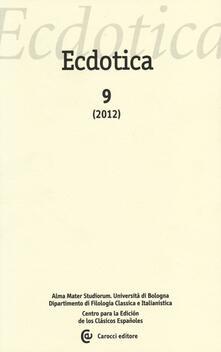 Ristorantezintonio.it Ecdotica (2012). Vol. 9 Image