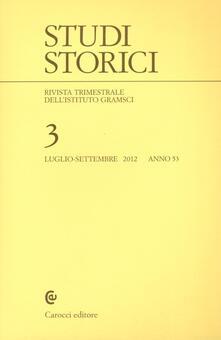 Antondemarirreguera.es Studi storici (2012). Vol. 3 Image