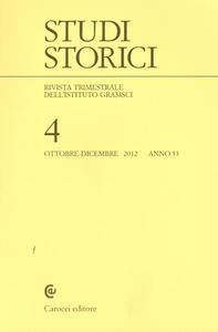 Studi storici (2012). Vol. 4