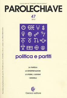 Antondemarirreguera.es Parolechiave (2012). Vol. 47: Politica e partiti. Image