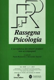 Amatigota.it Rassegna di psicologia (2012). Vol. 1 Image