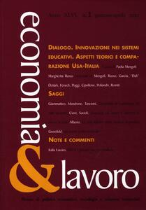 Economia & lavoro (2012). Vol. 1