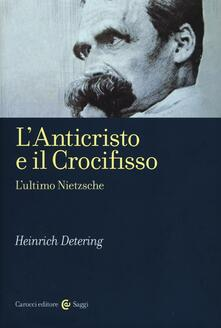 Radiospeed.it L' anticristo e il crocifisso. L'ultimo Nietzsche Image