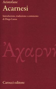 Promoartpalermo.it Gli Acarnesi. Testo greco a fronte Image