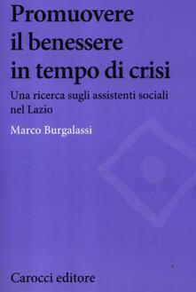 Aboutschuster.de Promuovere il benessere delle persone in tempo di crisi. Una ricerca sugli assistenti sociali nel Lazio Image