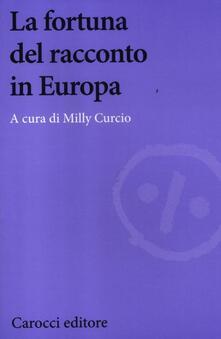 La fortuna del racconto in Europa - copertina