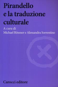 Promoartpalermo.it Pirandello e la traduzione culturale Image