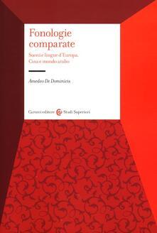 Radiosenisenews.it Fonologie comparate. Suoni e lingue d'Europa, Cina e mondo arabo Image