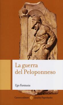 La guerra del Peloponneso - Ugo Fantasia - copertina