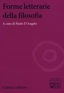 Ilmeglio-delweb.it Forme letterarie della filosofia Image