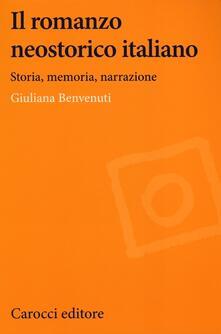Antondemarirreguera.es Il romanzo neostorico italiano. Storia, memoria, narrazione Image