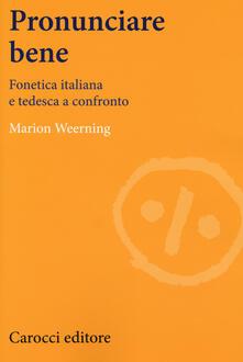 Adiaphora.it Pronunciare bene. Fonetica italiana e tedesca a confronto Image