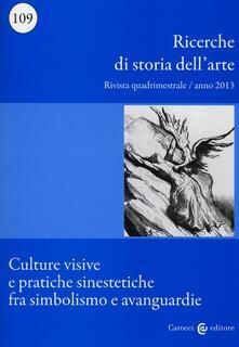 Camfeed.it Ricerche di storia dell'arte. Vol. 109 Image