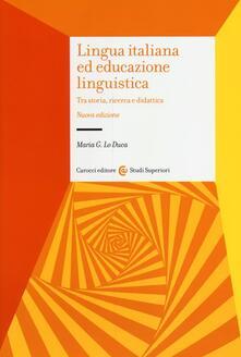 Listadelpopolo.it Lingua italiana ed educazione linguistica. Tra storia, ricerca e didattica Image