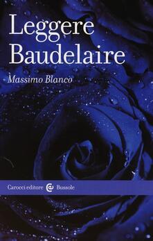 Equilibrifestival.it Leggere Baudelaire Image