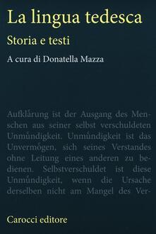 Listadelpopolo.it La lingua tedesca. Storia e testi Image