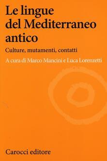 Promoartpalermo.it Le lingue del Mediterraneo antico. Culture, mutamenti, contatti Image