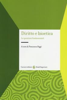 Ristorantezintonio.it Diritto e bioetica. Le questioni fondamentali Image