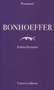 Libro Bonhoeffer Fulvio Ferrario