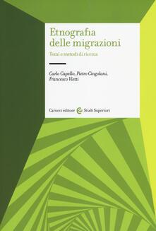 Librisulladiversita.it Etnografia delle migrazioni. Temi e metodi di ricerca Image