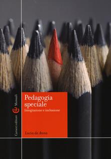 Rallydeicolliscaligeri.it Pedagogia speciale. Integrazione e inclusione Image