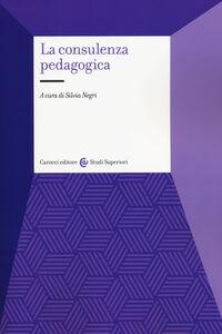 Libro La consulenza pedagogica