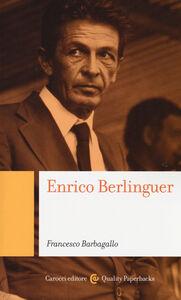 Libro Enrico Berlinguer Francesco Barbagallo