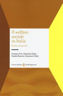Radiospeed.it Il welfare sociale in Italia. Realtà e prospettive Image