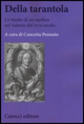 Della tarantola. Lo studio di un medico nel Salento del XVII secolo