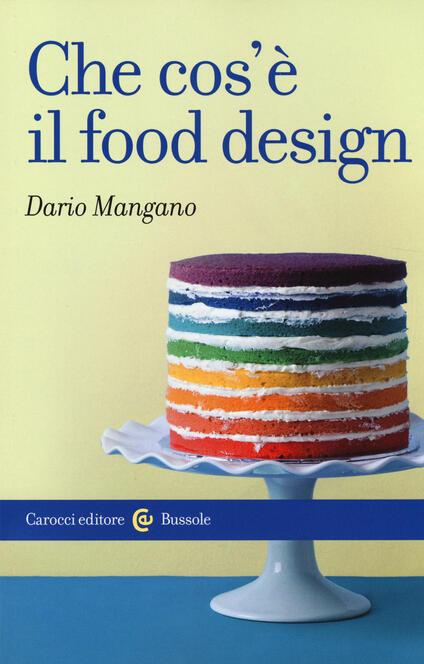 Che cos'è il food design -  Dario Mangano - copertina
