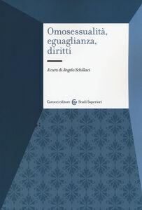 Foto Cover di Omosessualità, eguaglianza, diritti. Desiderio e riconoscimento, Libro di  edito da Carocci