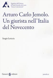 Listadelpopolo.it Arturo Carlo Jemolo. Un giurista nell'Italia del Novecento Image