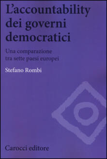 L accountability dei governi democratici. Una comparazione tra sette paesi europei.pdf