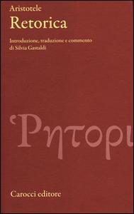 Libro Retorica. Testo greco a fronte Aristotele