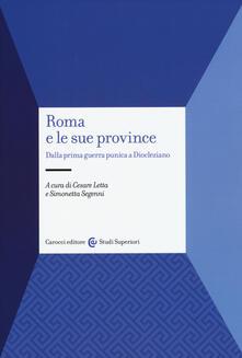 Teamforchildrenvicenza.it Roma e le sue province. Dalla prima guerra punica a Diocleziano Image