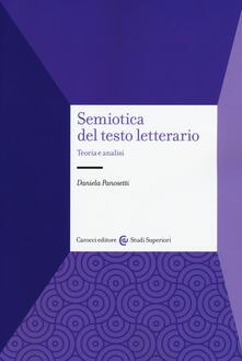 Criticalwinenotav.it Semiotica del testo letterario. Teoria e analisi Image