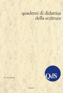 3tsportingclub.it QdS. Quaderni di didattica della scrittura (2015). Vol. 23 Image