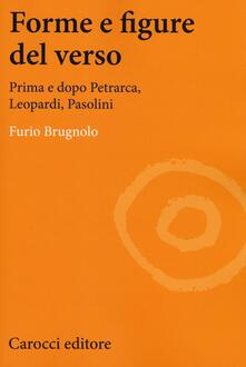Osteriacasadimare.it Forme e figure del verso. Prima e dopo Petrarca, Leopardi, Pasolini Image